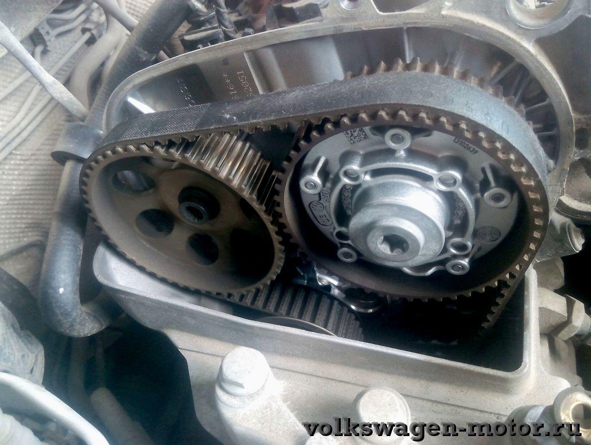 Замена ремня ГРМ на VW POLO