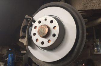 Замена задних тормозных дисков Пассат б6